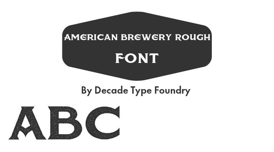 American-Brewery-Rough-Font-Free-Download