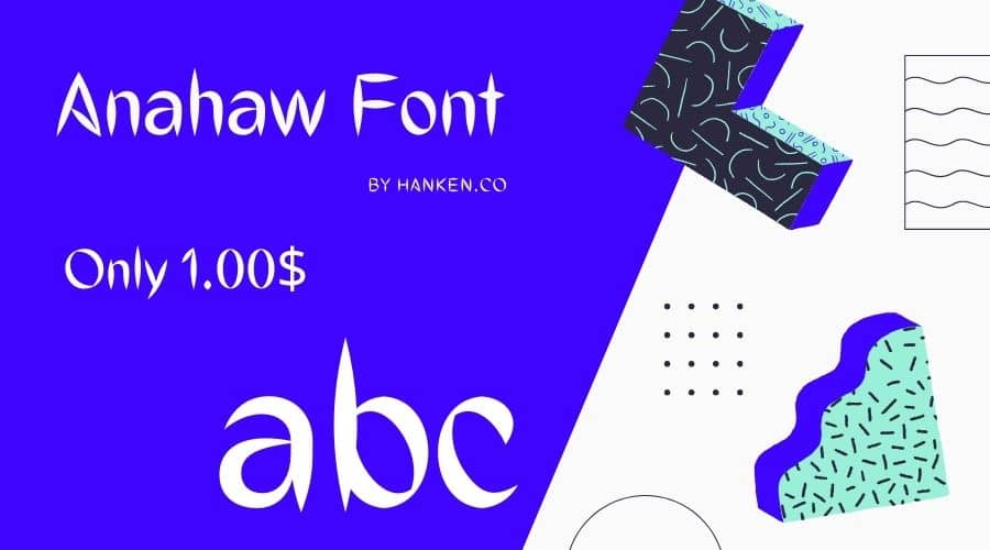 Anahaw Font Free Download
