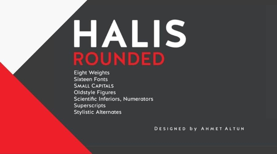 Halis Rounded Font Free Download