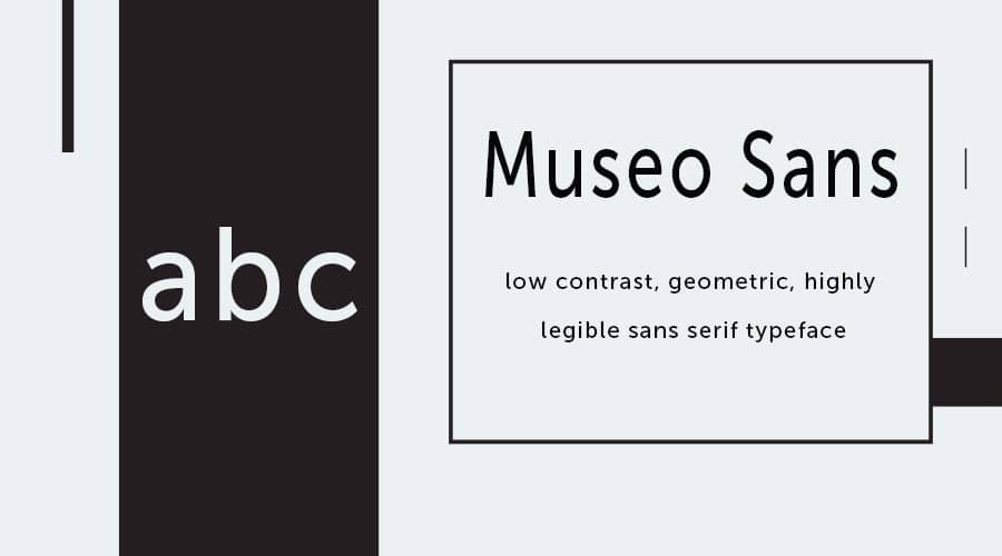 Museo Sans Font Free Download