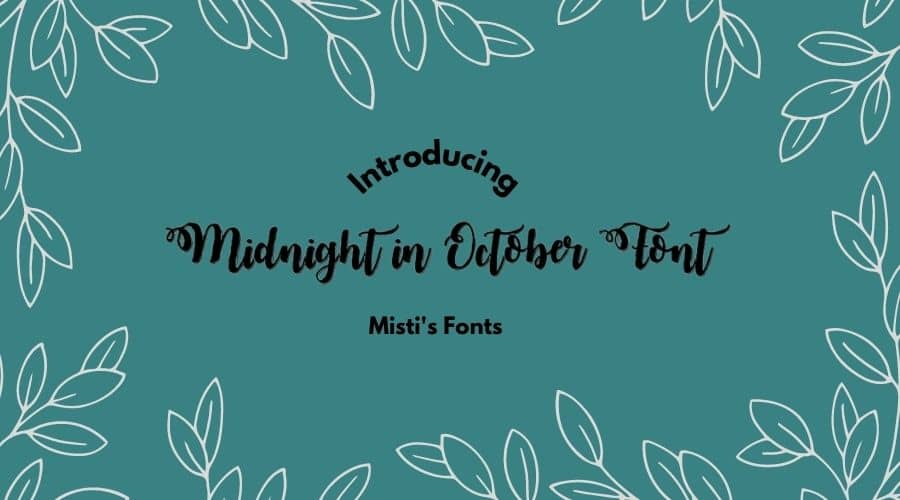 Midnight in October Font Free Download