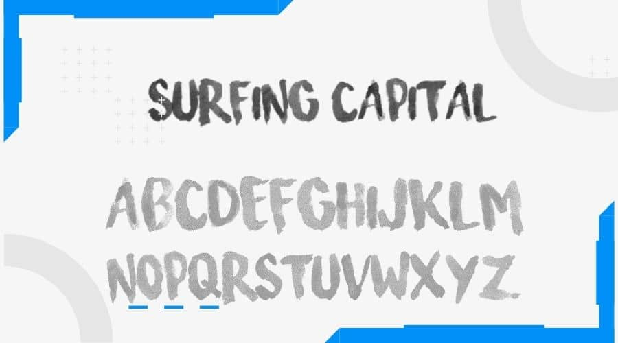 Surfing Capital Font Free Download