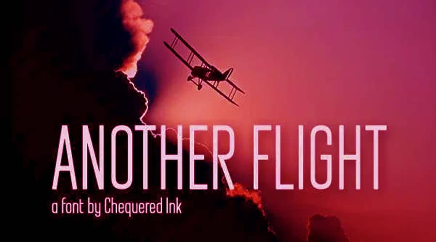 Another Flight Font Free Download