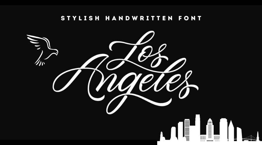 Los Angeles Font Free Download