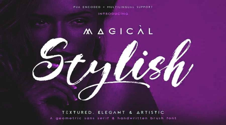Magical Stylish Font Duo Free Download