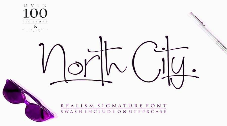 North City Font Free Download