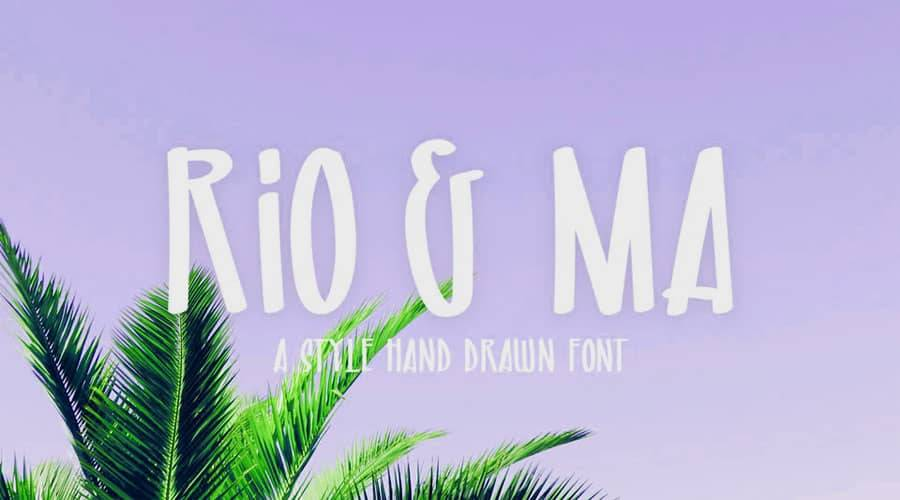 Rio and Ma Font Free Download