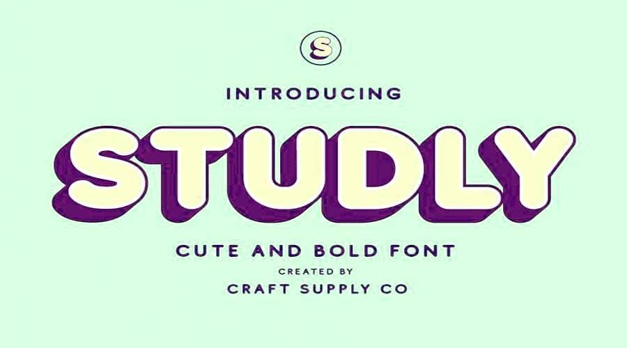 Studly Font Free Download