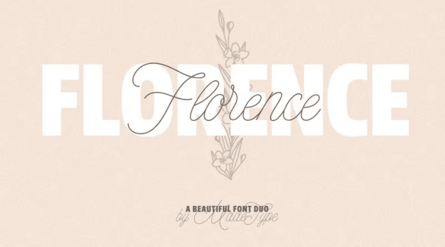 MADE Florence Font Duo Free Download