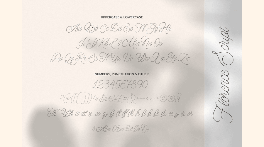 MADE Florence Font Duo View