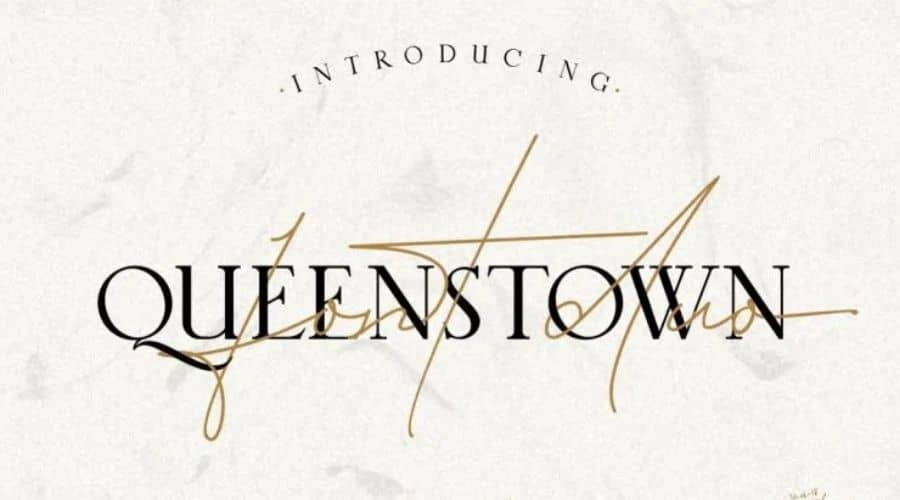 Queenstown Signature Font Free Download
