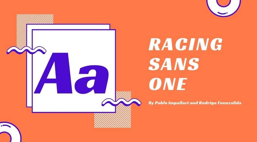 Racing Sans One Font Free Download