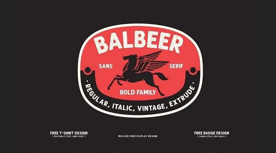 Balbeer Font Family Free Download