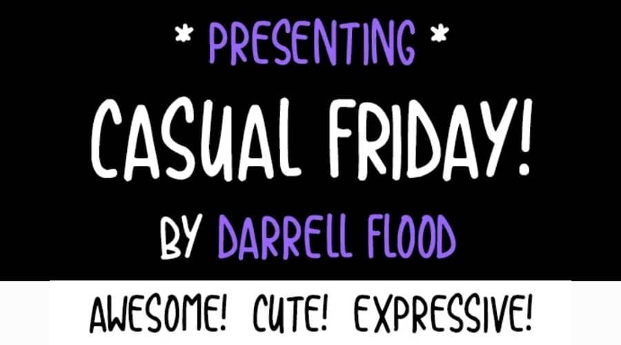 Casual Friday Font Free Download