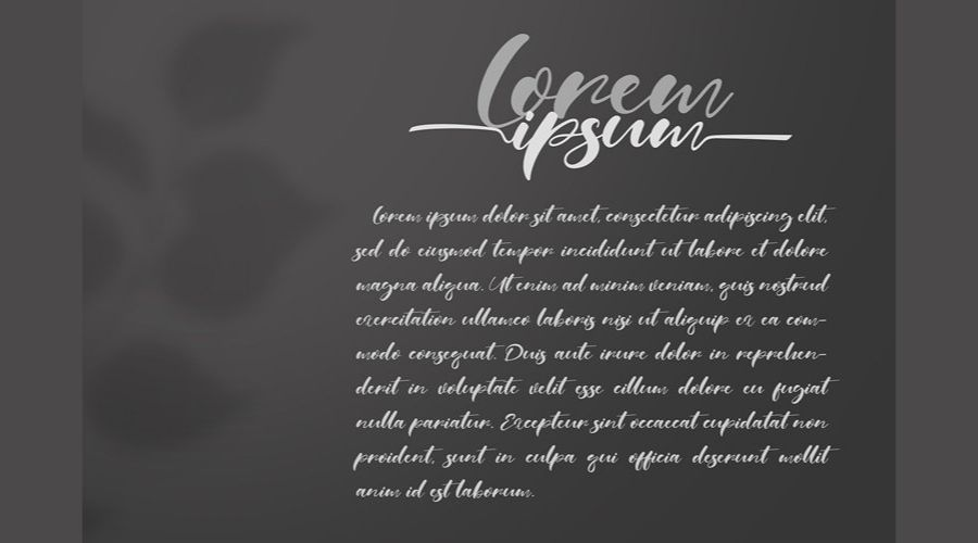 Real Miami Calligraphy Font View