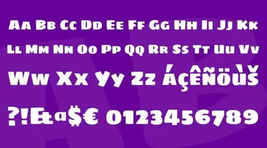 Sigmar One Font View
