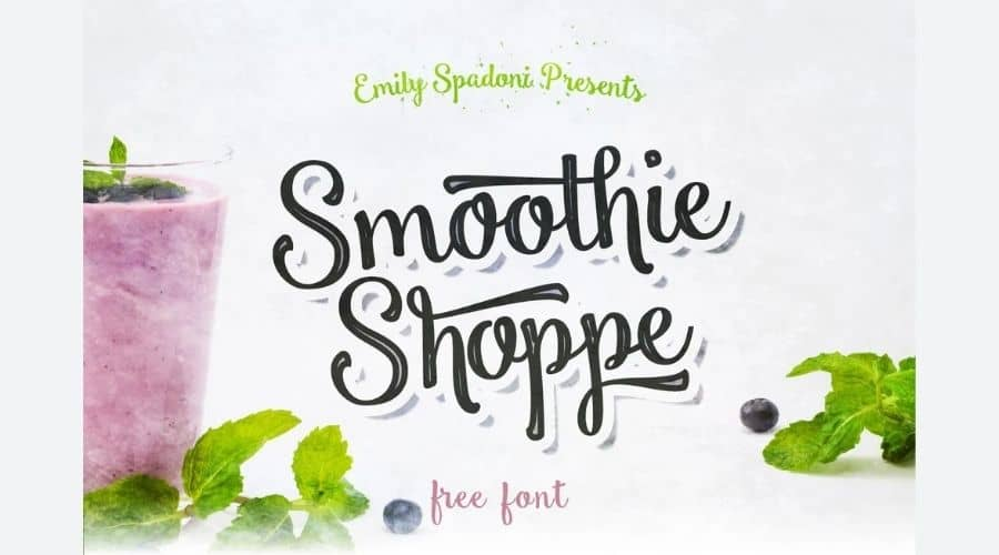 Smoothie Shoppe Font Free Download