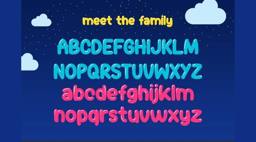 Jelly Belly Font View