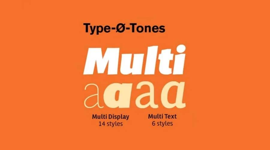 Multi Font Family Free Download