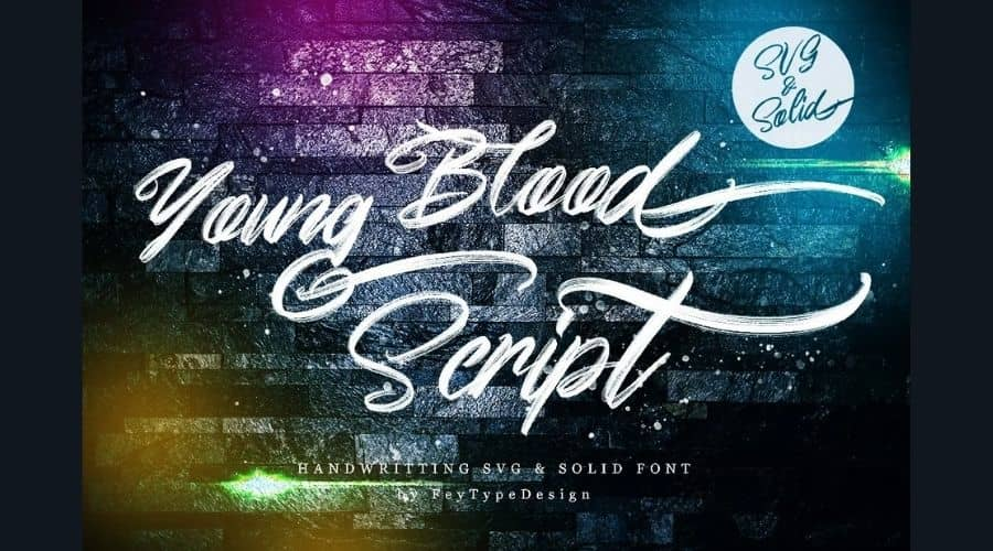 Young Blood Font Free Download