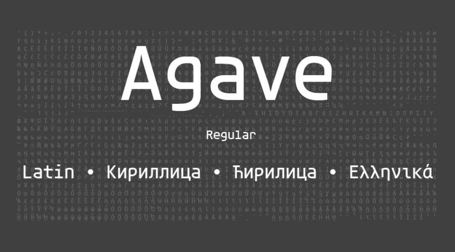 Agave Font Free Download
