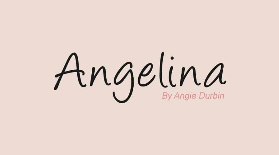 Angelina Font Free Download