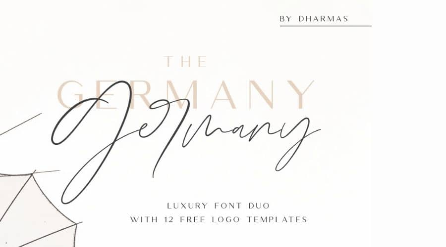 Germany Font Duo Free Download