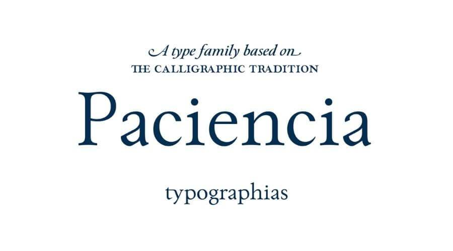 Paciencia Font Download Free