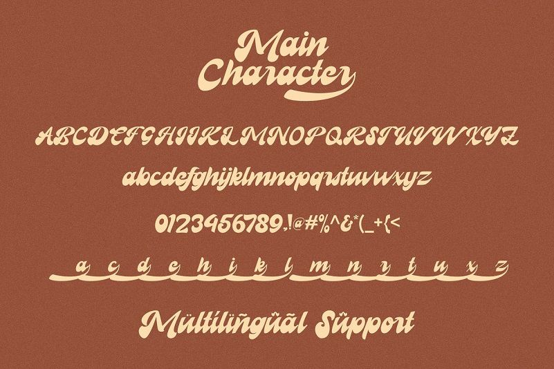 Recollet Retro Bold Font View
