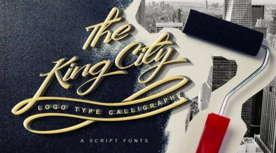 The King City Font Free Download