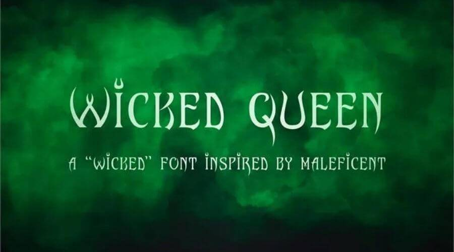 Wicked Queen Font Download Free